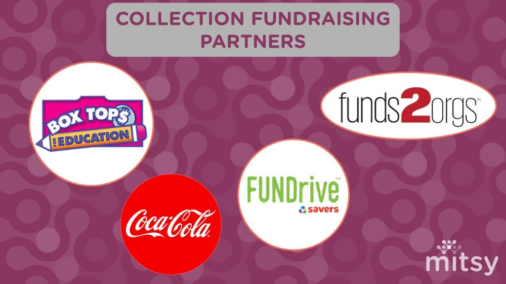 Collection passive fundraising partners